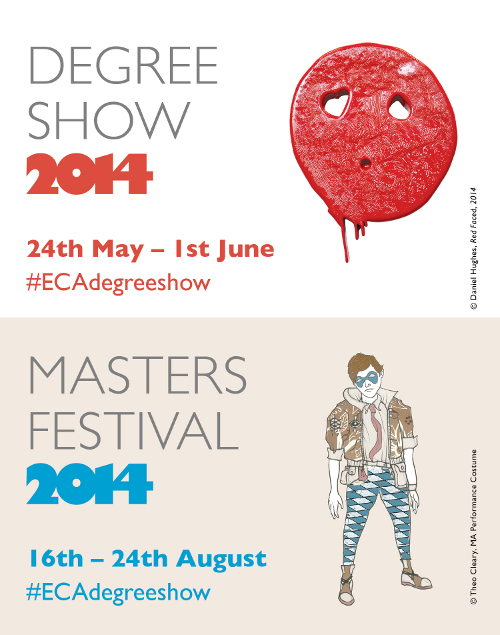 ECA Degree Show www.degreeshow.eca.ed.ac.uk