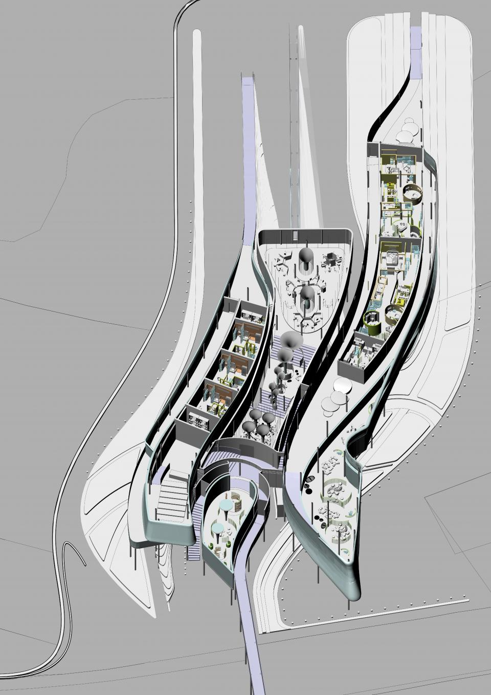 Jiamin Zhong_Architecture - BA_MA_2020_AD - Tectonics_ The Productive City - The Institute of Marine Science_3.jpg